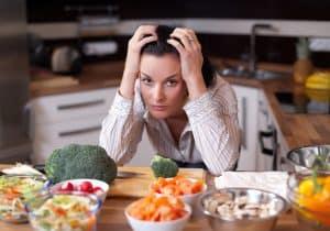 Brak uważności w diecie